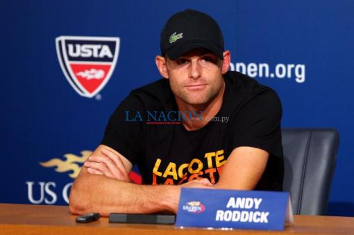 Andy Roddick anunció su retiro del tenis profesional luego de disputar el Abierto de Estados Unidos