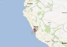 Sismo se registró en Lima