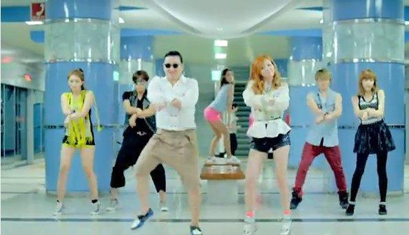 """Gangnam Style"" o ""Baile del Caballo"" (Youtube)"