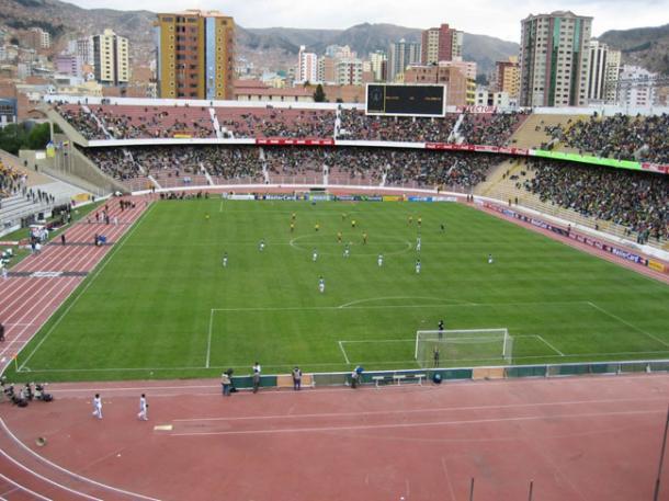 Perú jugará a las 3 de la tarde el partido por clasificatorias ante Bolivia, en el Estadio Hernando Siles de La Paz.