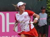 Bianca Botto es la tenista peruana mejor ubicada en el ranking de la WTA, que lidera Victoria Azarenka