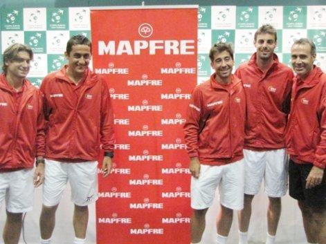 España es ligera favorita para llegar a la final al ser local y tener a Ferrero como el tenista mejor ubicado en el ranking