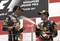 El bicampeón mundial, Sebastian Vettel, volvió al triunfo luego de diez fechas, al ganar en Singapur