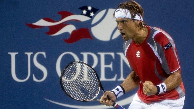Por segunda vez en el Abierto de Estados Unidos, el español David Ferrer llega a las semifinales