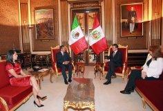 Encuentro de Ollanta Humala con Enrique Peña Nieto