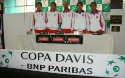 Perú enfrentará a la selección de Haití por Copa Davis en febrero del 2013