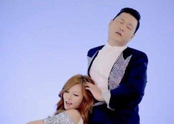 Hyuna y Psy en Youtube