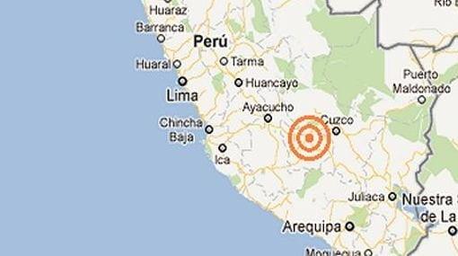 Sismo de 5.4 grados se sintió en Ica, Cusco y Apurimac