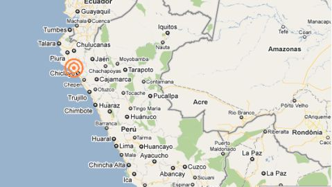 Sismo en Chiclayo