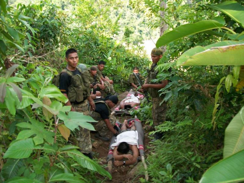 Soldados heridos (Referencial)