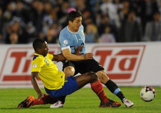Uruguay y Ecuador siguen en los primeros lugares de la tabla de clasificación al mundial Brasil 2014