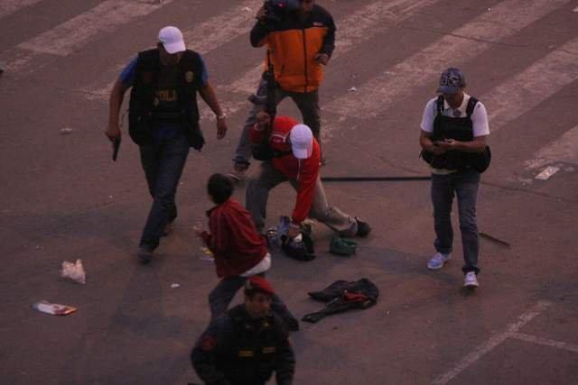 Violencia extrema en La Parada