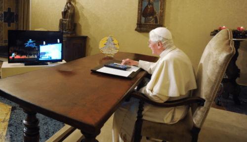 Benedicto XVI listo para el Twitter