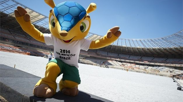 El armadillo brasileño de tres bandas – mascota oficial del mundial Brasil 2014 – se llamará FULECO, un término que combina el fútbol con la ecología
