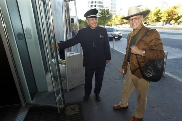 Larry Hagman adoraba Dallas (Michael Ainsworth/Staff Photographer)