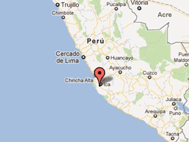 Temblor de 5.8 grados ha sacudido el sur del Perú