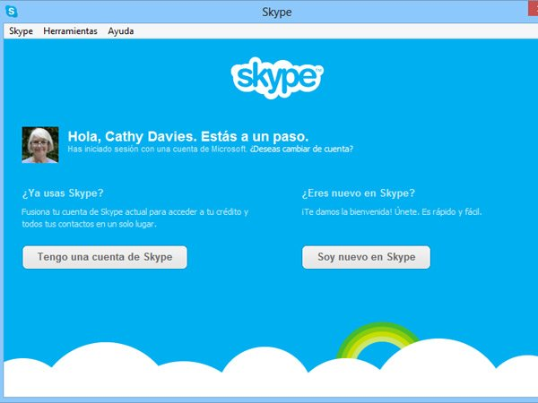 Alerta a usuarios de Messenger para migrar a Skype