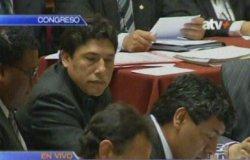 Alexis Humala en el Congreso