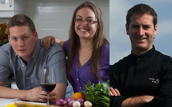 Lorena Valdivia, Jason Nanka e Iván Kisic