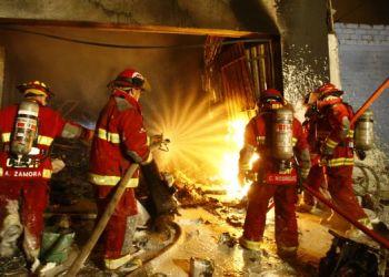 Incendio en Lurigancho (Referencial)