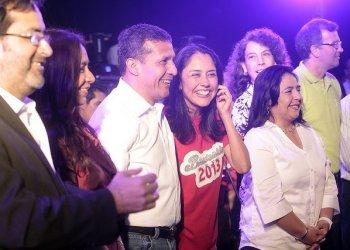 """Nadine Heredia: """"Niego una postulación presidencial al 2016"""""""