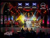 Finalistas de Perú tiene talento