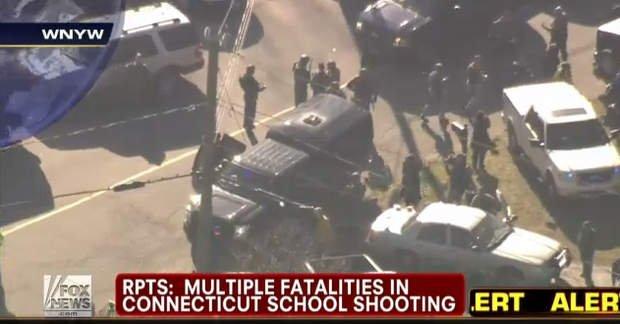 La TV norteamericana informa de muerte en colegio de Connecticut