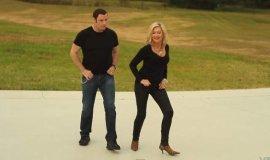 John Travolta y Olivia Newton-John