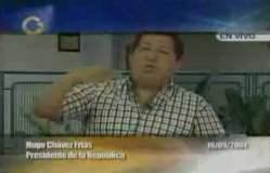 Hugo Chávez, en setiembre del 2004