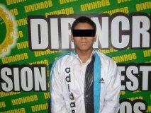 """Delincuente alias """"Vaca"""" presentado hoy (Mininter)"""