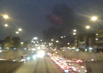 Incendio en avenida Caquetá (@luissantolalla)