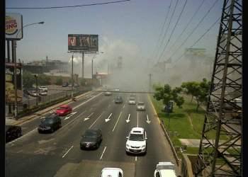 Incendio en Jockey Plaza (@JMarcovich)