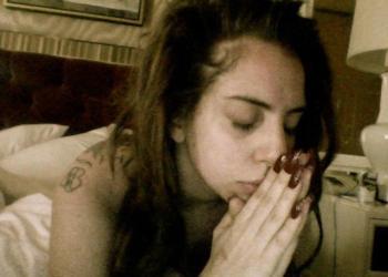 La foto que publicó Lady Gaga en Facebook en solidaridad con Brasil (Facebook)