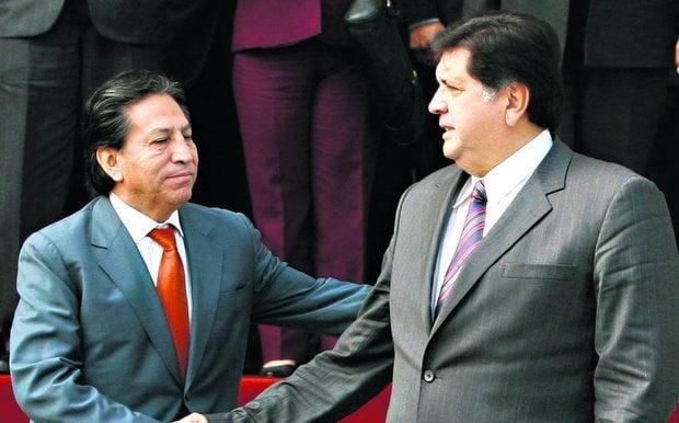 Alan García y Toledo conversaron sobre