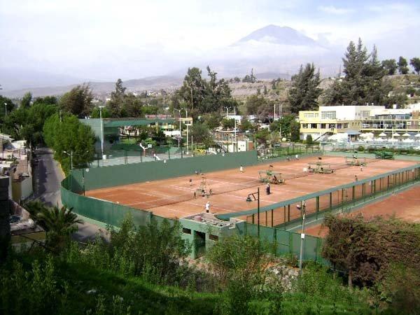 El escenario del Club Internacional Arequipa será sede del encuentro entre Perú y Venezuela por Copa Davis.