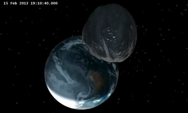 Asteroide 2012 DA14 (Nasa)