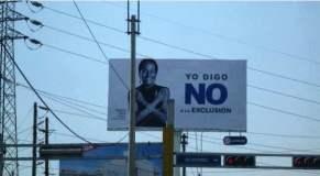 Los costosos paneles publicitarios de Villarán (Cortesía Blog de Favre)