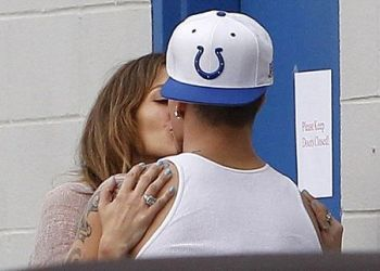 JLo y Casper Smart no ocultan su amor