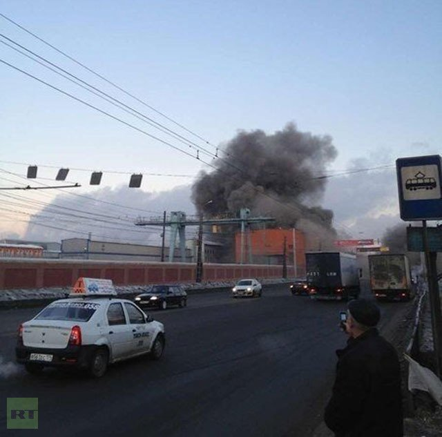Alarma en Rusia por caída de meteorito (Cortesía RT)