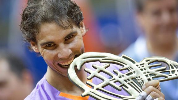 Rafael Nadal y un título con mucho significado. Campeonó en Sao Paolo luego de ocho meses.