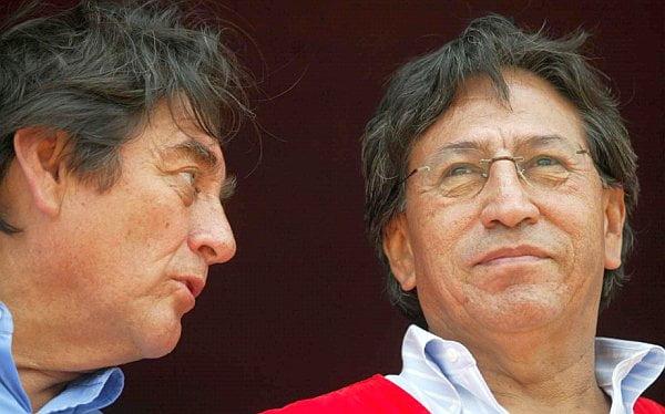 Luis Thais y Alejandro Toledo (Foto: El Comercio)