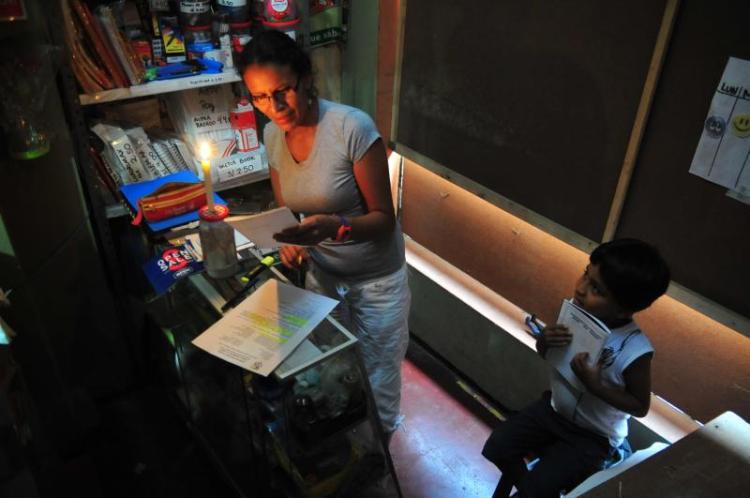 Apagón afecta gran parte de Miraflores y moviliza a serenazgo