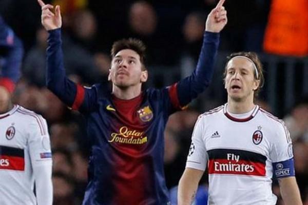 Gran noche de Messi y compañía que derivó en la clasificación del Barcelona.