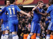 Chelsea quedó eliminado de la Champions pero luchará por obtener la Europa League.