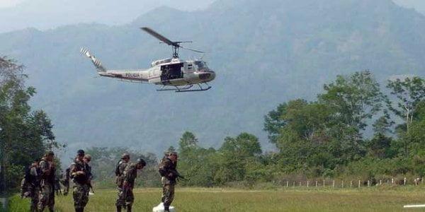 Narcoterroristas detonan explosivos en torres de telefonía celular