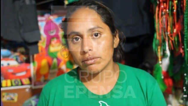 Rosa Evelin Jiménez Rojas denunció a Zumba y su familia
