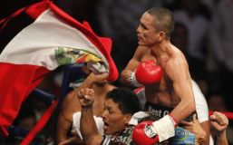 """""""Chiquito"""" Rossel sigue siendo el más grande del boxeo mundial en  la categoría minimosca"""