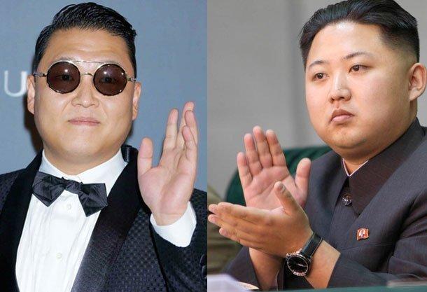 PSY y Kim Jong Un, dos íconos totalmente opuestos (Internet)