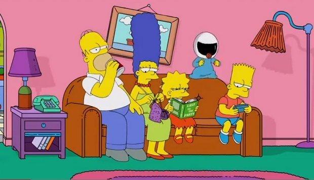 """Los Simpson se unen a la fiebre del """"Harlem Shake"""""""