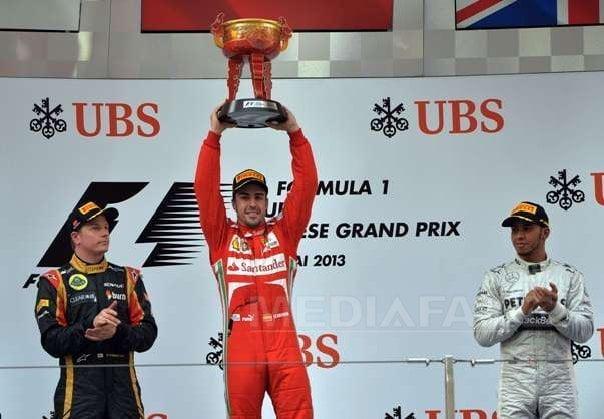 Fernando Alonso logró adjudicarse el Gran Premio de China en la Fórmula 1.
